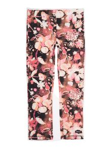 DKNY Girls all over printed leggings