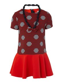 Girls dress and necklace set
