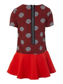 Little Marc Jacobs Girls dress and necklace set