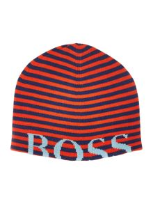 Hugo Boss Baby boys striped hat