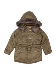 DKNY Girls hooded parka