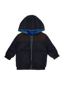 Baby boys reversible puffer jacket