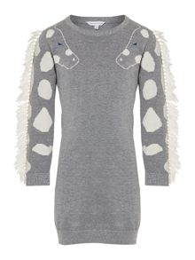 Little Marc Jacobs Girls knitted dress