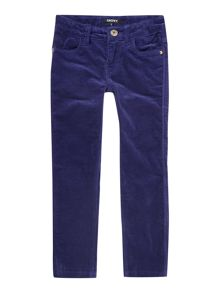 DKNY Girls velvet trousers
