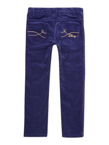 Girls velvet trousers