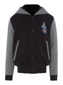 Boys hooded Teddy cardigan