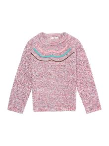 Billieblush Girls knitted sweater