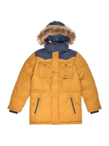 Timberland Boys hooded puffer jacket