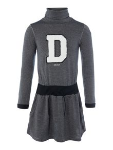 Girls turtleneck dress