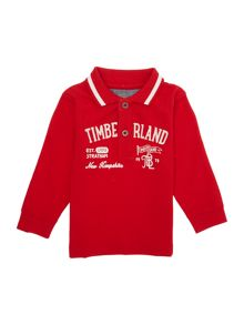 Baby boys long sleeve polo shirt