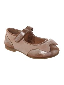 Carrement Beau Girls leather ballerinas