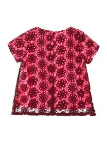 DKNY Girls lace blouse