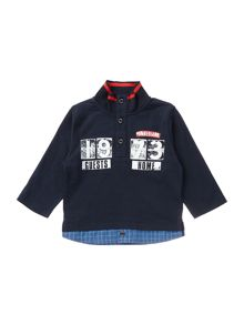 Timberland Baby boys long sleeve polo shirt