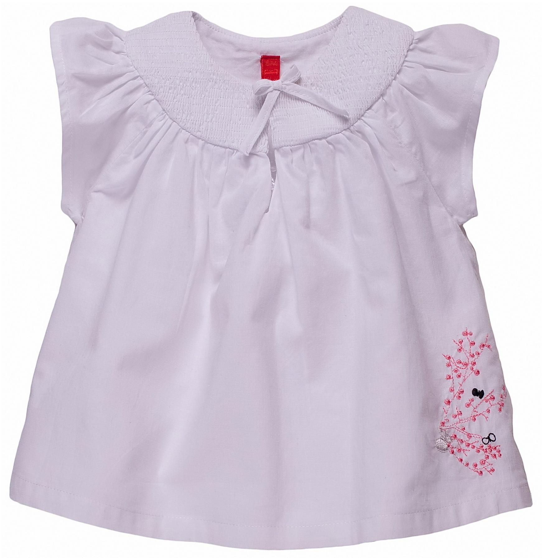 Elle Short-sleeved blouse - White `2 yrs,18 mths,9 product image