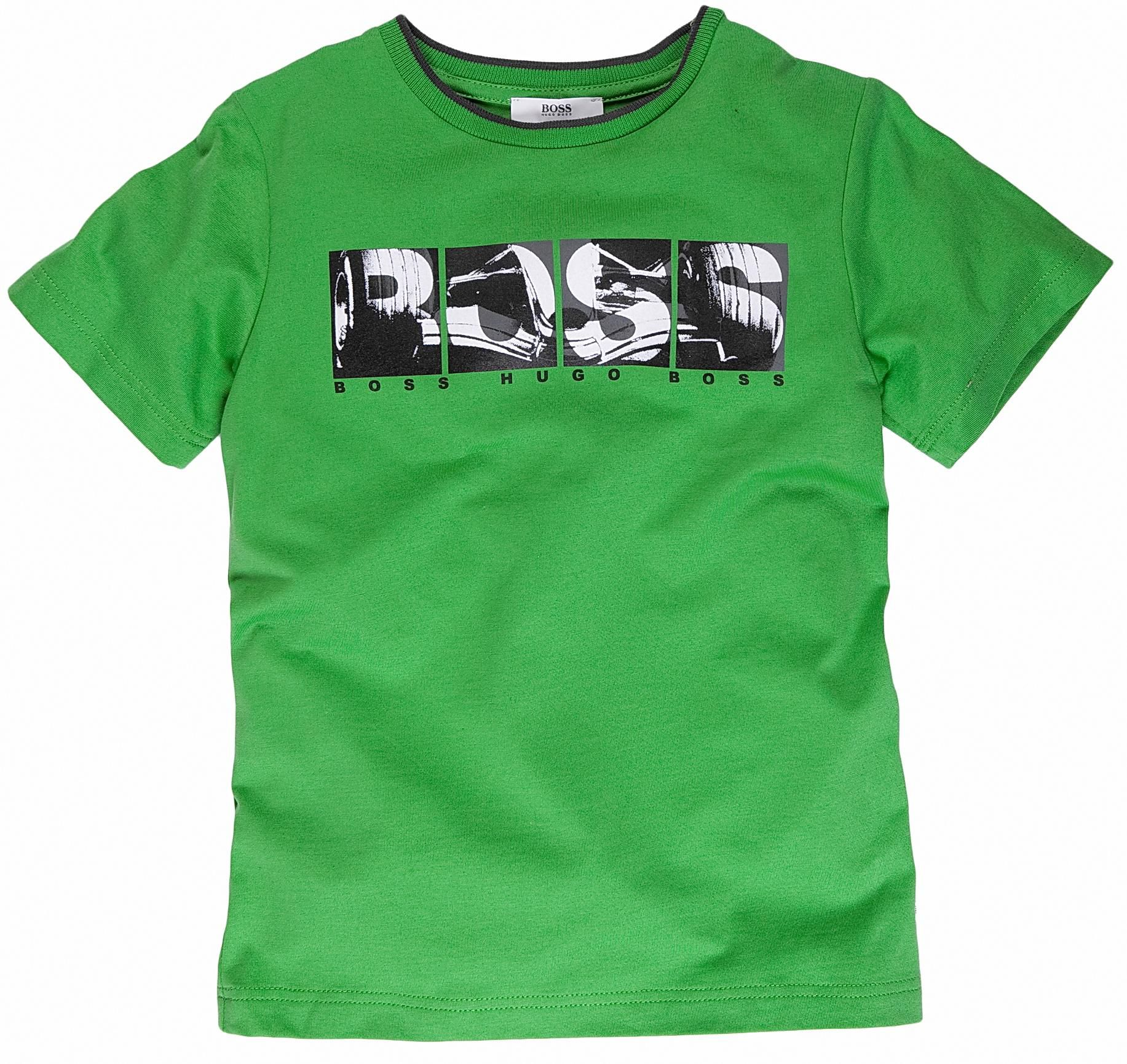 Hugo Boss Short-sleeved logo T-shirt Green product image