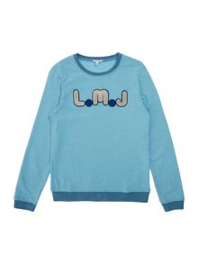 Little Marc Jacobs Boys Fleece Sweatshirt