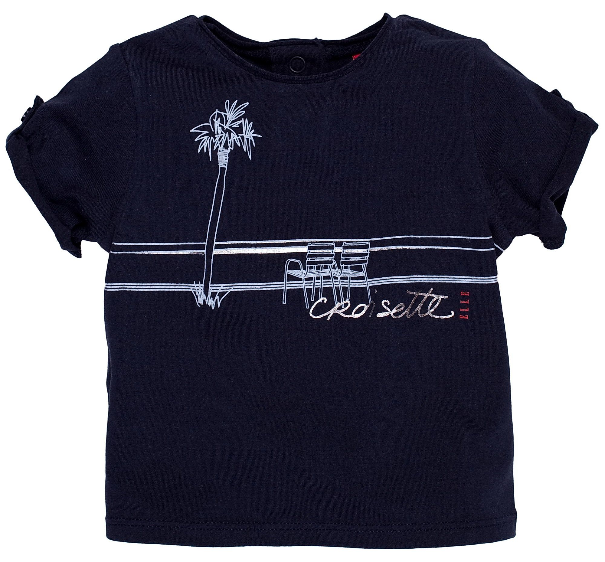Elle Childrens Elle Short-sleeved T-shirt, Navy product image