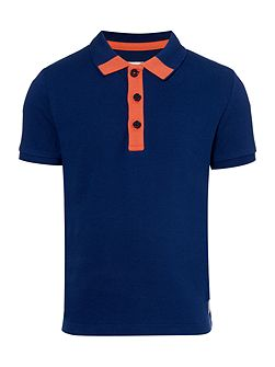 Carrement Beau Boys Short sleeved polo shirt
