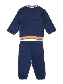 Baby boys cardigan and trouser set