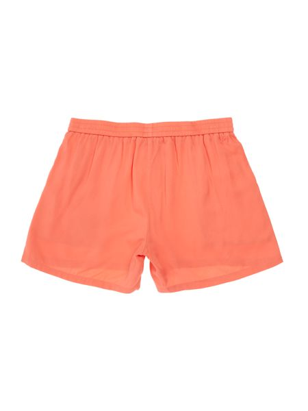 Little Marc Jacobs Girls Shorts with a flower detail