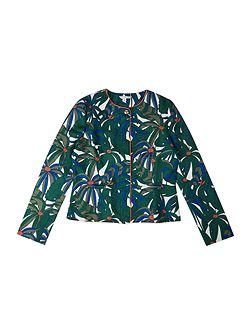 Girls All over printed jacket