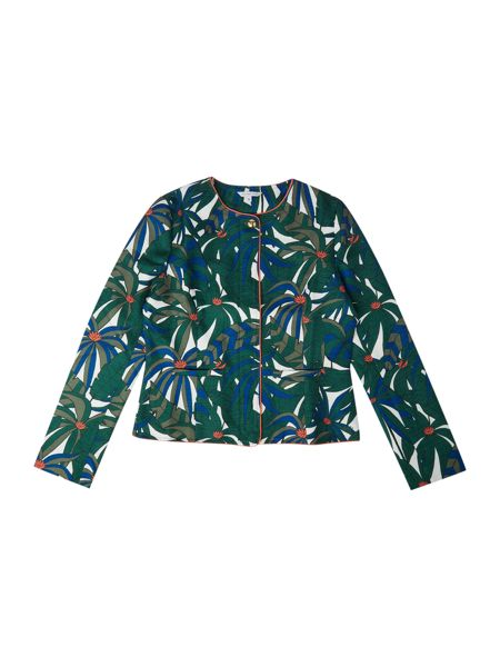 Little Marc Jacobs Girls All over printed jacket