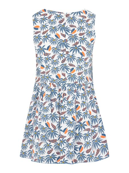Little Marc Jacobs Girls All over printed jungle dress