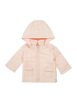 Baby girls Coated and quilted jacket