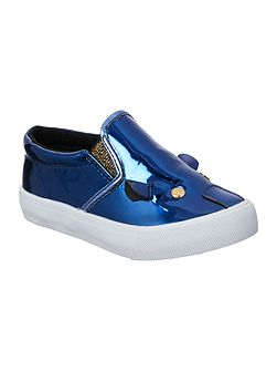 Little Marc Jacobs Girls Varnished mouse sneakers