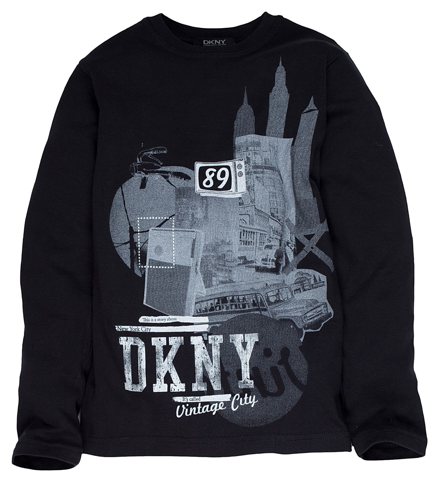 DKNY Childrens DKNY Long sleeved t-shirt, Black product image