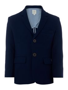 Carrement Beau Boys Cotton pique suit jacket