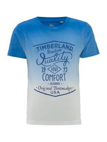 Timberland Boys Short sleeve dip dye t-shirt