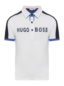 Hugo Boss Boys Short Sleeved Polo Shirt
