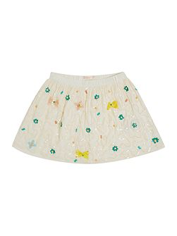 Billieblush Girls Skirt with Sequin and Bead