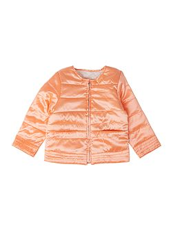 DKNY Baby girls Reversible quilted jacket