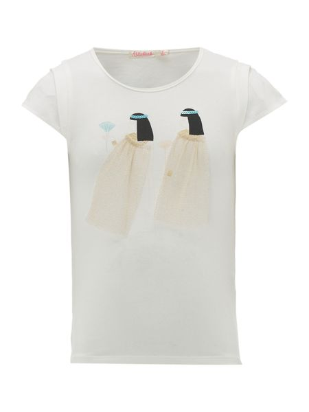 Billieblush Girls Egyptian Print T-Shirt
