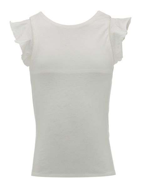 Carrement Beau Girls Ruffled t-shirt