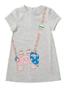 Little Marc Jacobs Baby girls Fleece dress