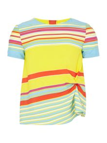 Little Marc Jacobs Girls Striped blouse
