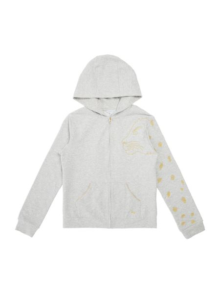 Little Marc Jacobs Girls Hooded cardigan