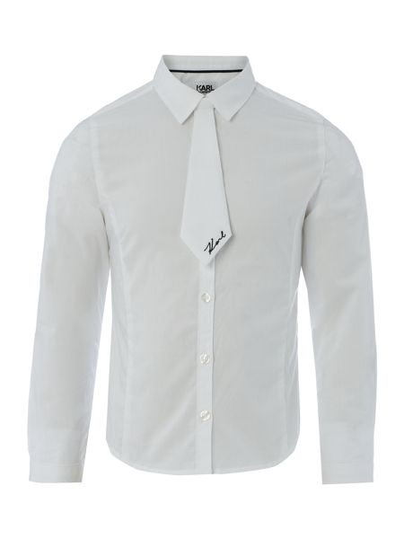 Karl Lagerfeld Girls Cotton poplin shirt