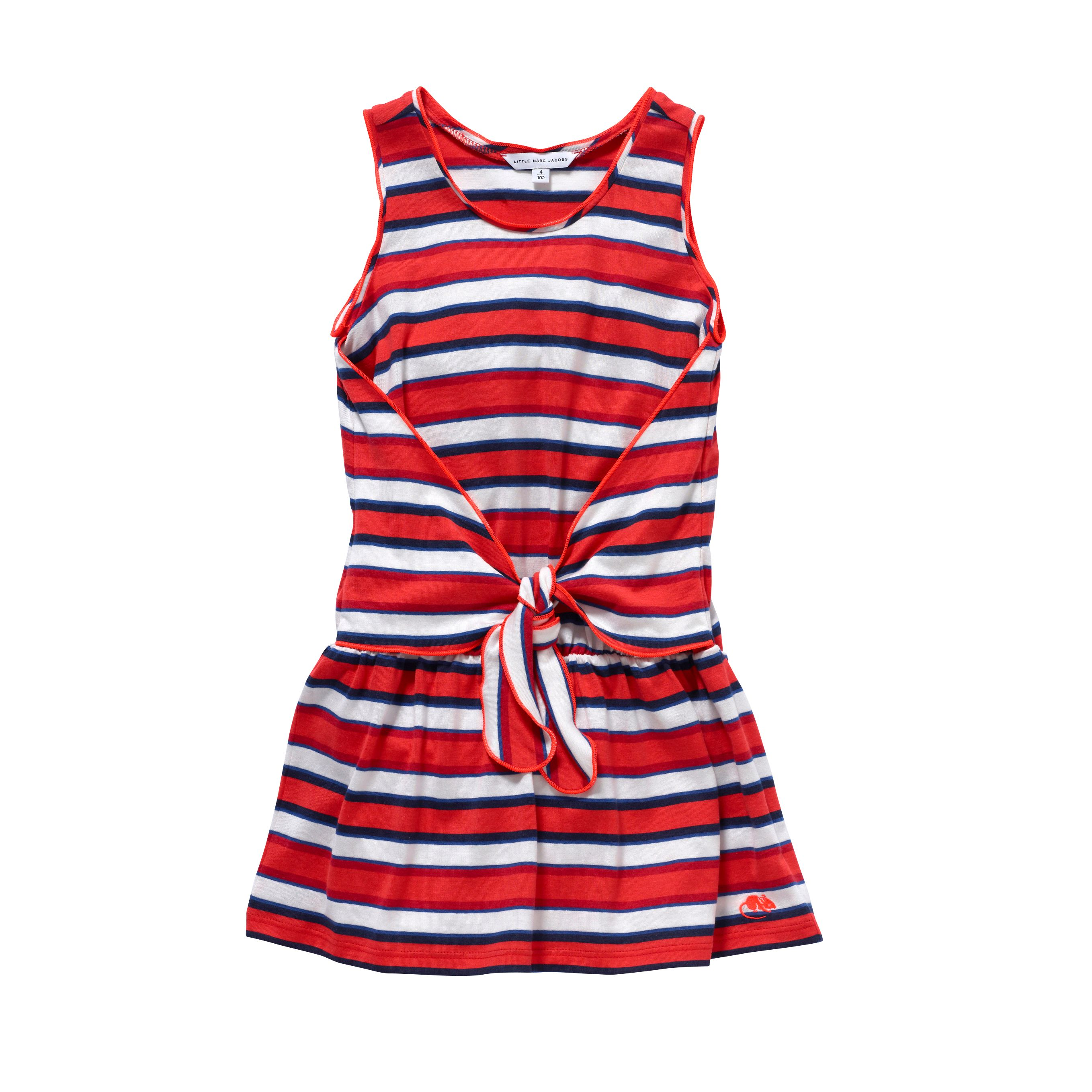 Girl`s stripe dress