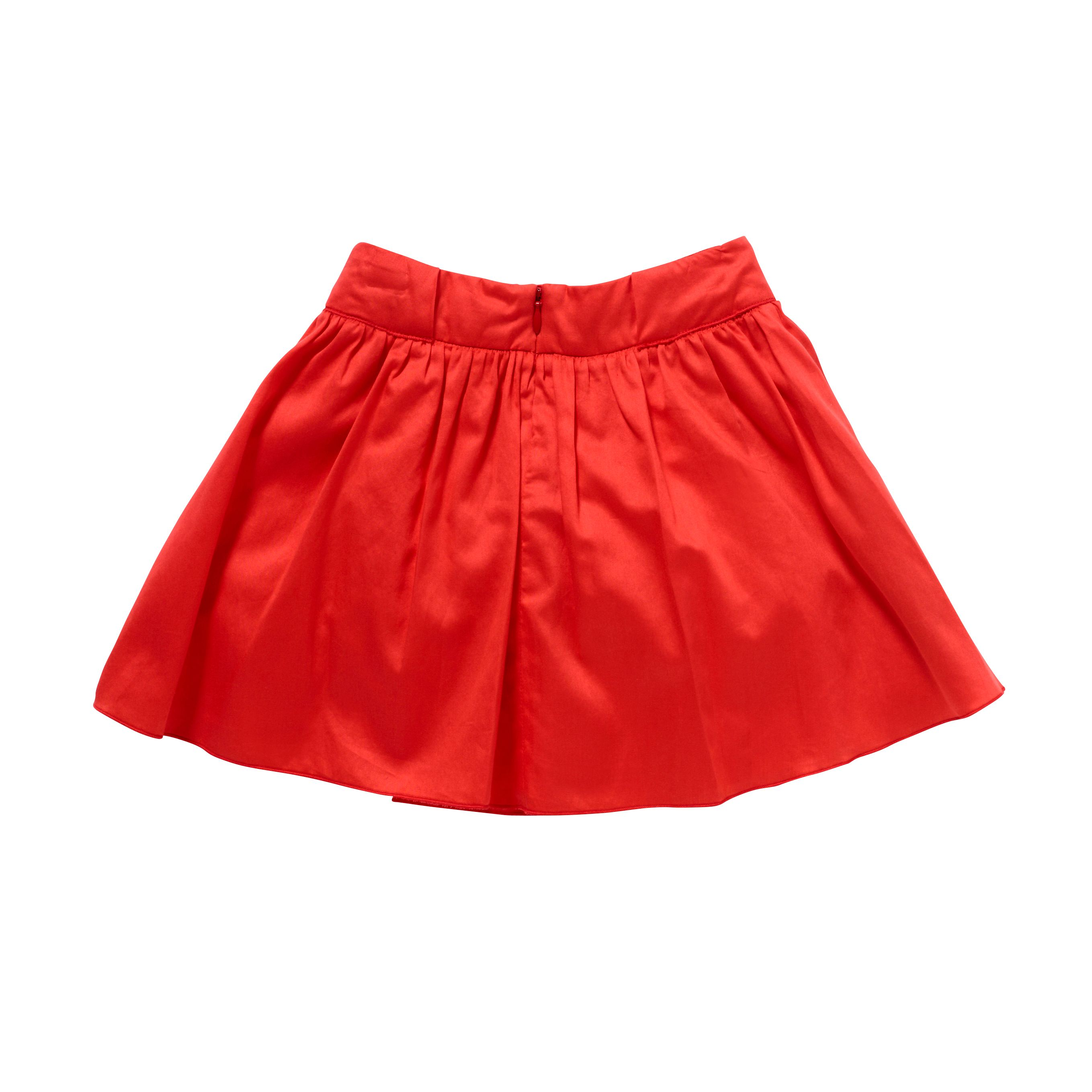 Girl`s Little Hearts Skirt