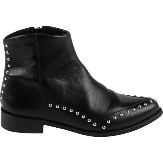 Zadig & Voltaire Girls Black Leather Boots