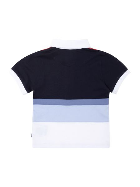 Hugo Boss Baby boys striped short sleeve polo shirt