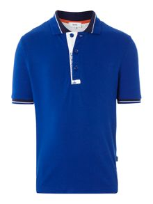 Boys cotton short sleeve polo shirt