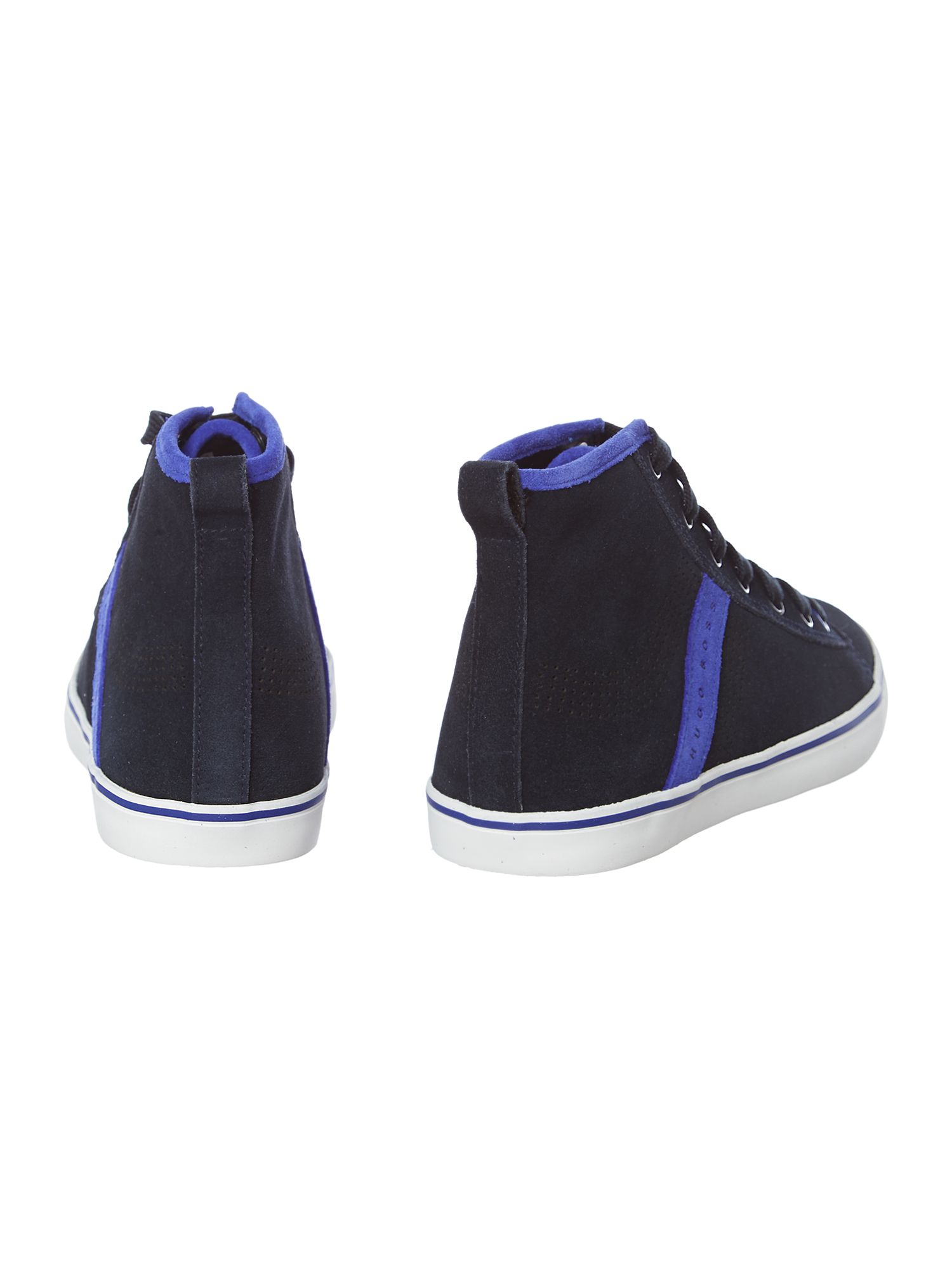 Boys leather trainers
