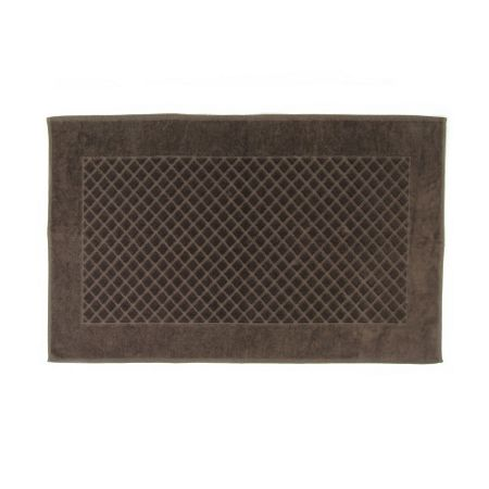 Yves Delorme Etoile taupe bath mat