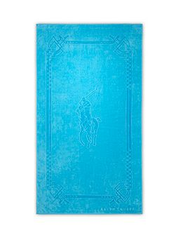 Pony turquois beach towel