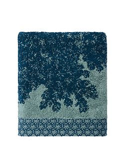 Calicot Peacock hand towel